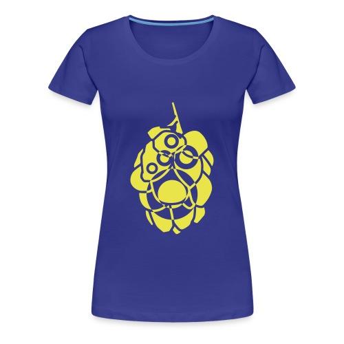 B19 i humlekotte - Premium-T-shirt dam
