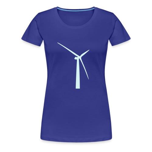 windenergieanlage - Frauen Premium T-Shirt