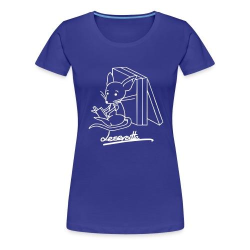 Leseratte - Frauen Premium T-Shirt