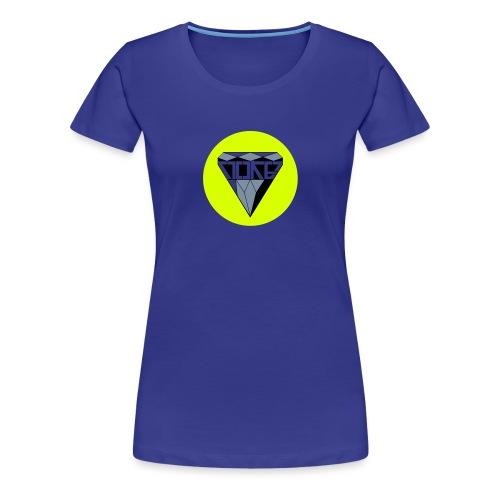 logo NOKEDIAMOND - Frauen Premium T-Shirt