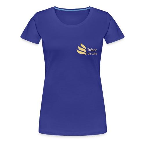 Trésor de Loire Logo - T-shirt Premium Femme