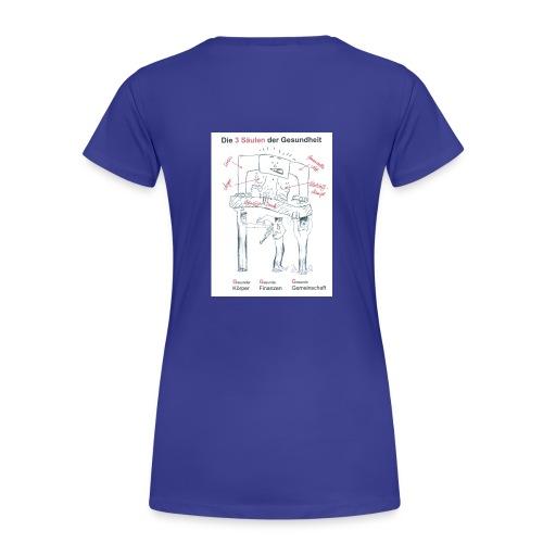 weiter verkleinert visitenkarte neu die - Frauen Premium T-Shirt