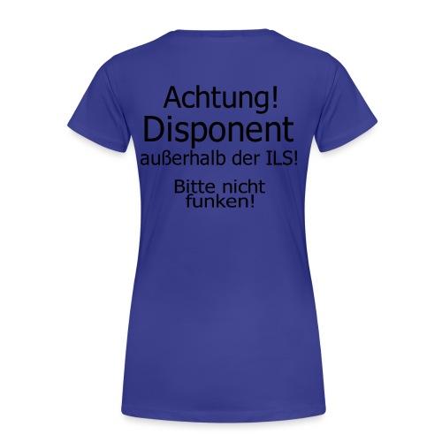 Bitte nicht Funken - Frauen Premium T-Shirt