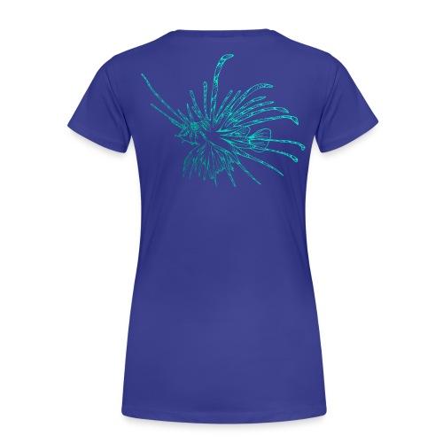 Feuerfisch Tauchen Taucher Lionfish Dive Diving - Frauen Premium T-Shirt