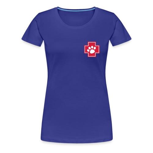 Notpfoten-Social-Media - Frauen Premium T-Shirt