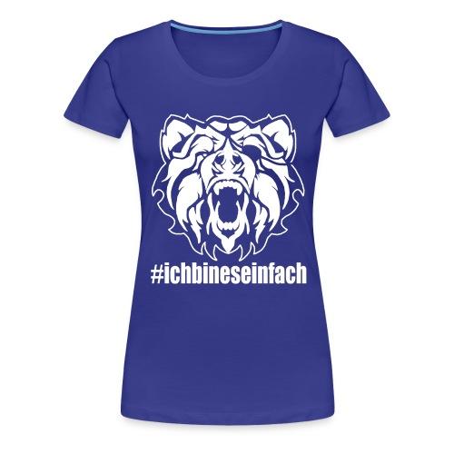 bear2 - Frauen Premium T-Shirt