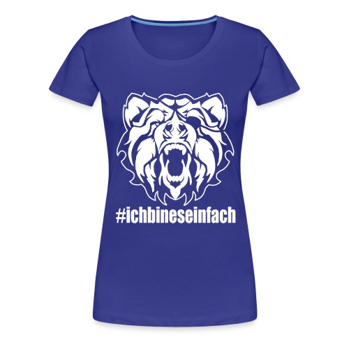 bear2 - Frauen Premium T-Shirt