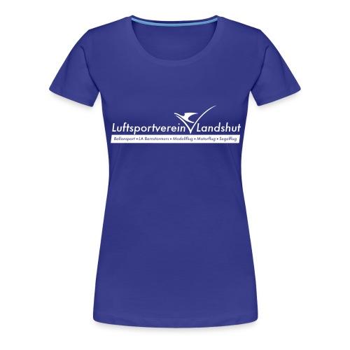 2018 LSV Logo sw - Frauen Premium T-Shirt