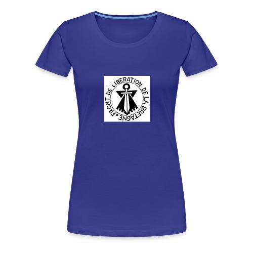 Front de Libération de la Bretagne jpg - T-shirt Premium Femme