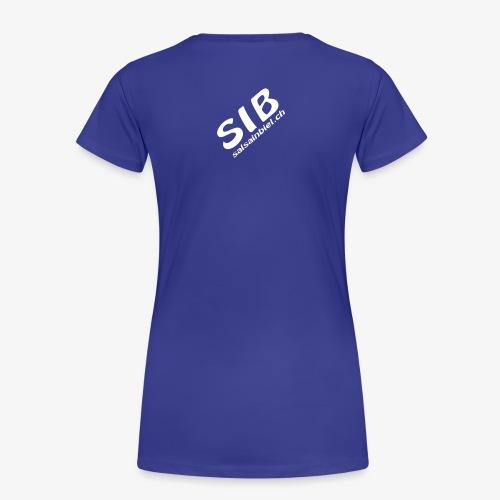 Tanzschule SIB / Salsa In Biel - Frauen Premium T-Shirt