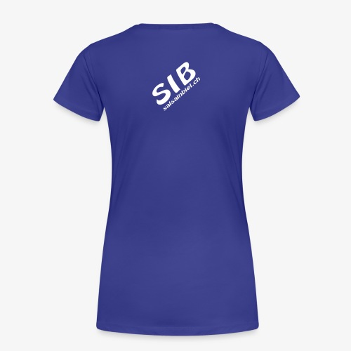 Tanzschule SIB / Salsa In Biel - T-shirt Premium Femme