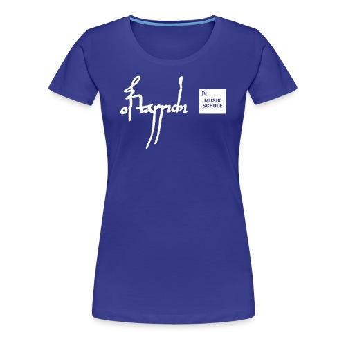 Musikschule - Frauen Premium T-Shirt