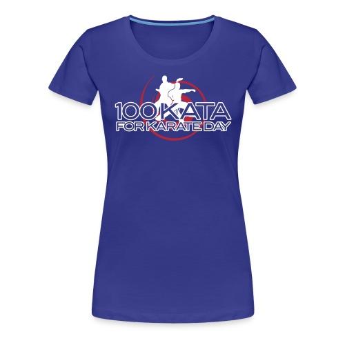 100 kata 2017oct T final - Women's Premium T-Shirt