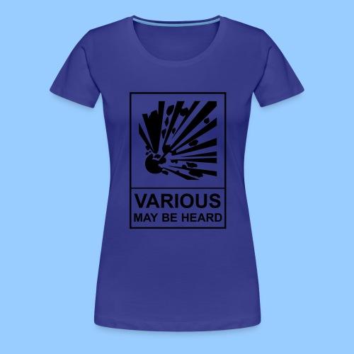 VariousExplosions (1 colour) - Women's Premium T-Shirt