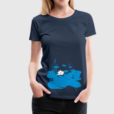 Teich - Frauen Premium T-Shirt