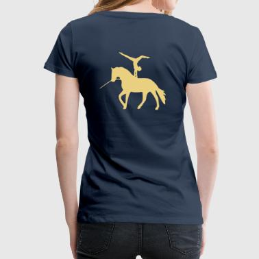 Voltigieren Handstand rückwärts - Frauen Premium T-Shirt