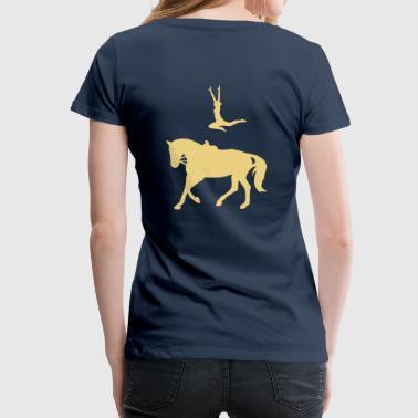 Voltigieren Sprung - Frauen Premium T-Shirt