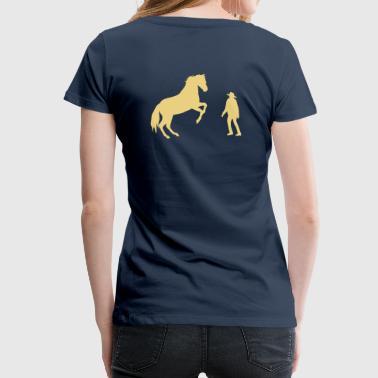 Horsemanship  - Frauen Premium T-Shirt