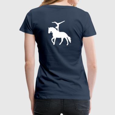 Einzelvoltigierer Handstand - Frauen Premium T-Shirt