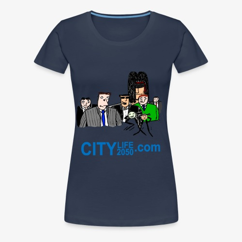 The Main Characters. - Women's Premium T-Shirt