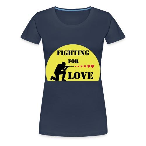 SOLDAT COEURS - T-shirt Premium Femme