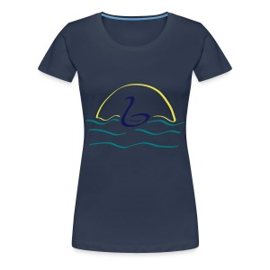 Swan - Vrouwen Premium T-shirt