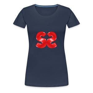 Spillstudio stor logo - Premium T-skjorte for kvinner