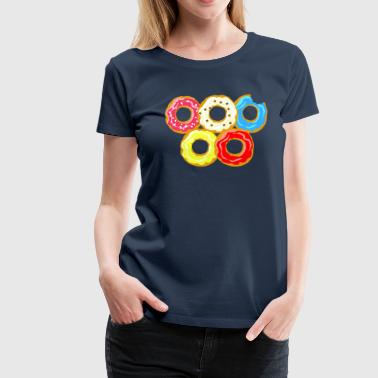 Donuts - Frauen Premium T-Shirt