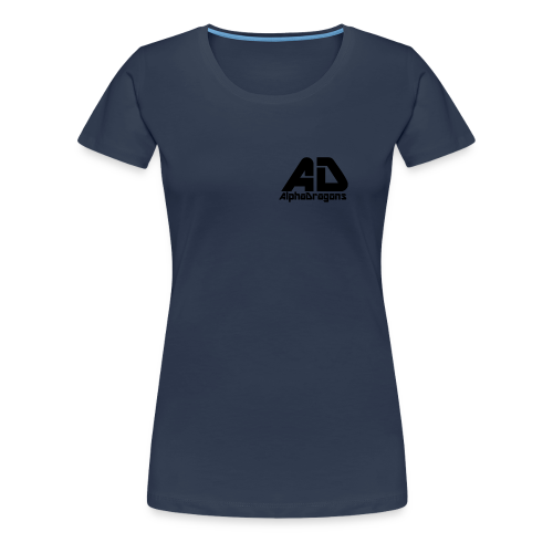 Alpha Dragons Retro - Frauen Premium T-Shirt