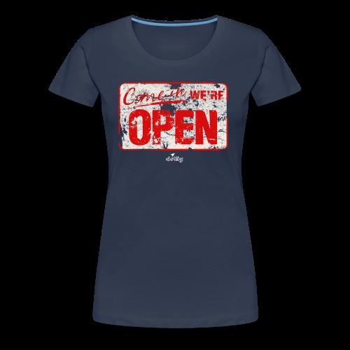 open red - Maglietta Premium da donna