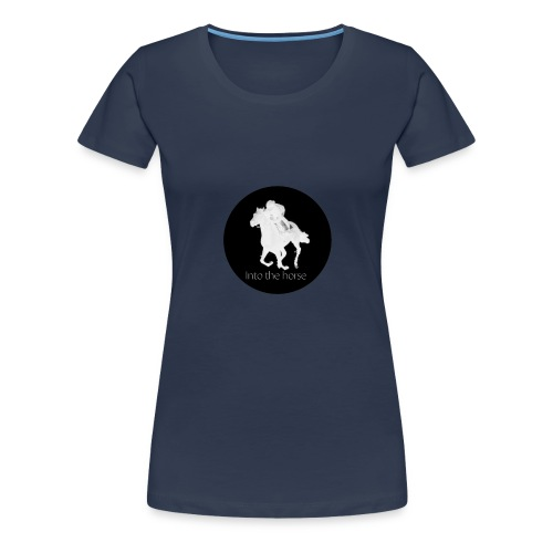 logo_intothehorse - Maglietta Premium da donna