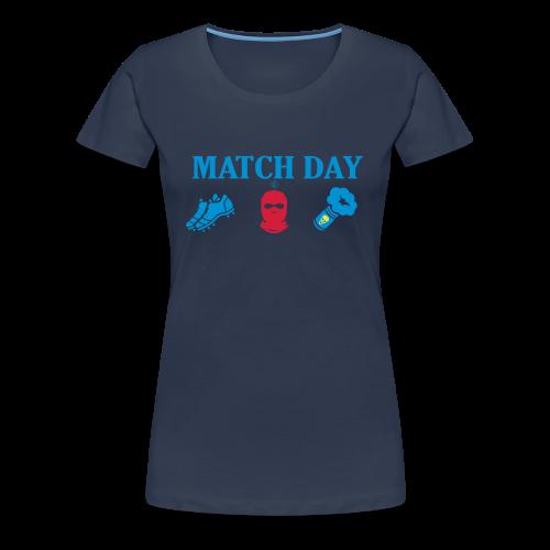 MatchDay - Premium-T-shirt dam