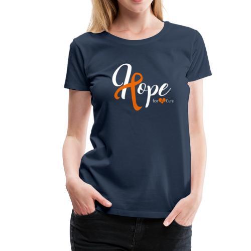 Hope2 white - Frauen Premium T-Shirt