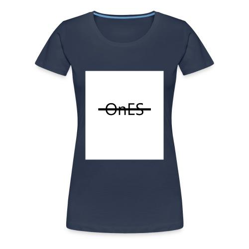 Brustaufdruck - Frauen Premium T-Shirt