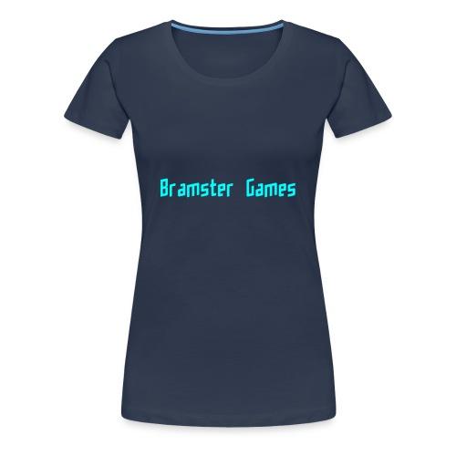 Bramster Games LichtBlauw - Vrouwen Premium T-shirt