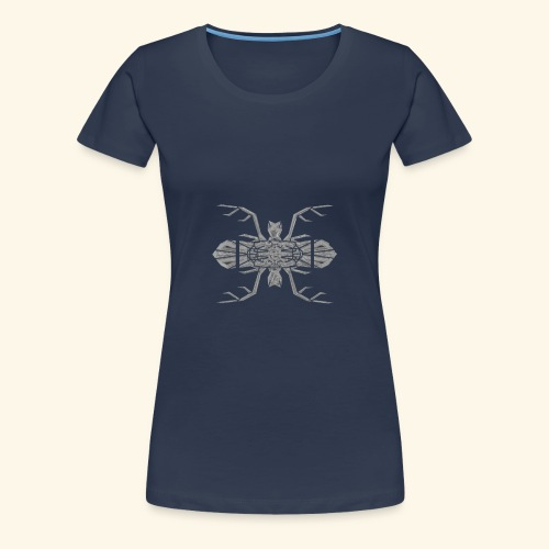Cerf - Souris - T-shirt Premium Femme