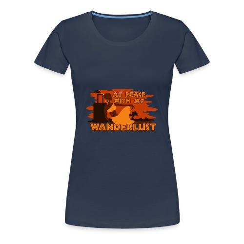 In Frieden mit meinem Fernweh - Frauen Premium T-Shirt