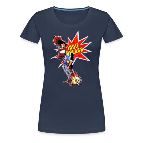 Indie Splash - Frauen Premium T-Shirt