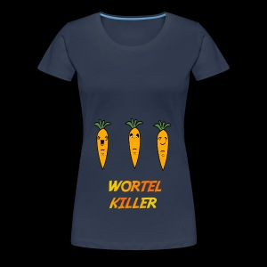 Wortel Killer [Teenager Premium T-Shirt] - Vrouwen Premium T-shirt