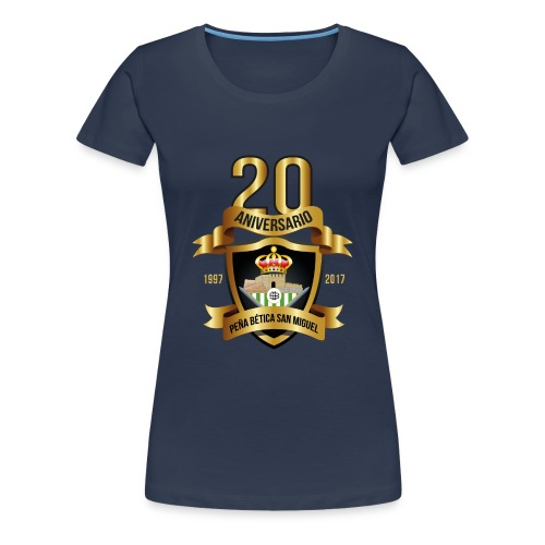 Camiseta Escudo 20 Aniversario - Camiseta premium mujer