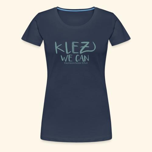 KlezWeCan Klezmerorchester Erfurt - Frauen Premium T-Shirt