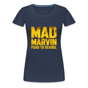 Mad Marvin: Road To School - Women's Premium T-Shirt