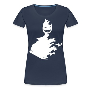 t-shirt monster (white/weiß) - Frauen Premium T-Shirt