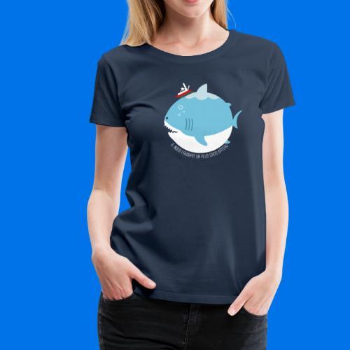 JAWS - T-shirt Premium Femme