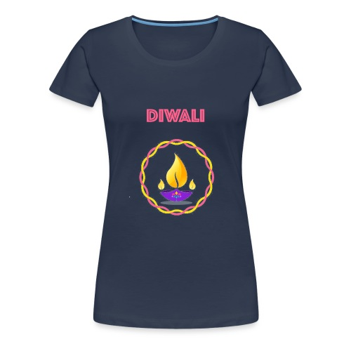 HAPPY Diwali Design - Women's Premium T-Shirt