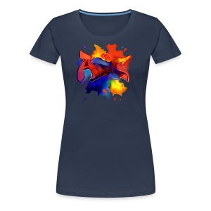 Art graffiti Style - Frauen Premium T-Shirt
