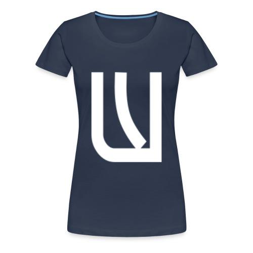W Blanc - T-shirt Premium Femme