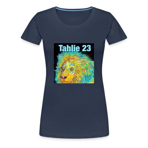 Tahlie 23 lion logo - Women's Premium T-Shirt