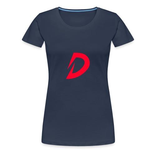 Destra Logo by Atelier render red - Vrouwen Premium T-shirt
