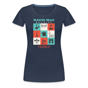 Rauh Welt France color - T-shirt Premium Femme